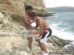 Raw latino twinks seaside banging