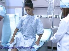 Asian babe gang banged during surgery