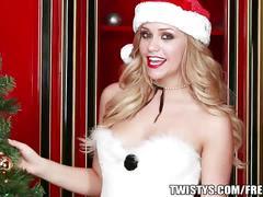 Mia malkova wishes you a sexy merry christmas.