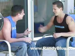 Randyblue: andrew stark & roman todd (flip-flop)
