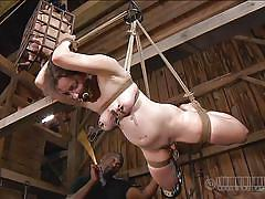 Hanged and spanked by a black executor