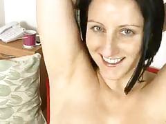 Well endowed mom amber lustfull masturbating