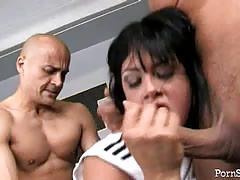 Tori lane's raw anal threeway
