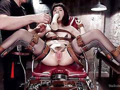 A special gynecology examination