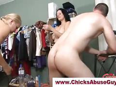 Naughty femdom fetish hot babes