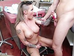 Tattooed chick christy mack fuck in the hospital