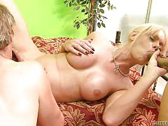 Blonde shemale hungry for cocks @ filthy shemale sluts #14