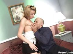 Cute babe lexi belle plowed by a fat boner