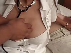 Knockin nurses fucked by two dicks