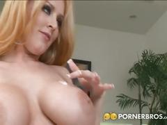 big dick, big tits, blonde, cumshot, hardcore, interracial, squirting,