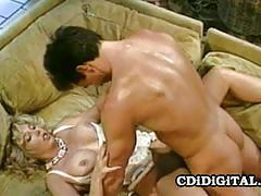 Vintage blonde victoria paris enjoys a hot fuck