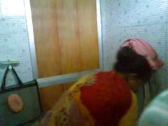 Milli bhabhi's bath part-2