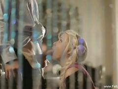 Erotic blowjob from the maiden