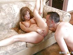 Curvy milf gets pounded in the ass