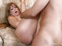 milf, anal, big ass, blowjob, pussy licking, balls licking, big breasts, cock stroking, milfs like it big, brazzers network, darla crane, keiran lee