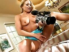Female director instruct hot couple