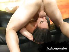 Nikki chase the professional whore in facial abuse