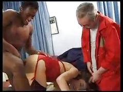 Wife gets bbc...and then hubby joins in