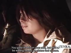 Subtitled japanese ghost hunting masturbation mission