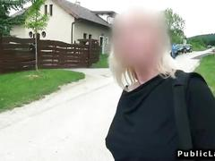 Amateur hairdresser fucks for cash pov