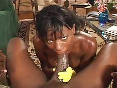 Anal divas in latex 4- ebony drilled by an another big black dick