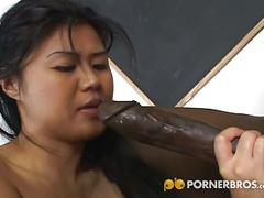 Byron long fucks this pussy of asian babe asia.