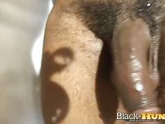 hunks, black men, big cocks, solo, jerking,