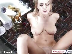 Slim chesty housewife natalia starr take cock in pov style