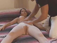 Clit and butt massage