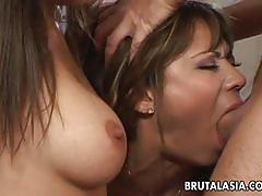 Kaiya lynn has a kinky threesome with a busty babe