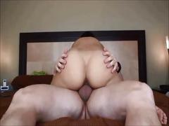 Amateur big butt wife creampied