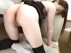 Papa - probing her ass