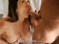 Big titted milf fucked by her lover
