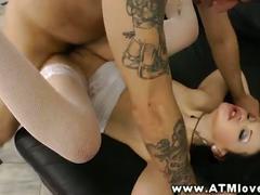 Butt sex adoring skank atm deepthroating