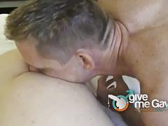 Horny boyfriends corrupting tight ass
