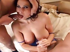 Busty gianna michaels gets banged from both ends