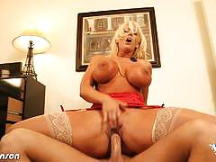 Busty blonde babe alura jenson gets banged hard