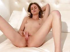Tight brunette jay taylor so happy masturbating