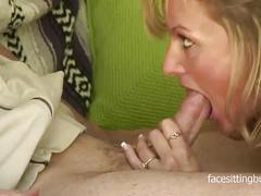 Dirty mom tries out her daughter's boyfriend's cock