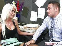 hardcore, naughtyamerica.com, dick sucking, big tits, busty, blonde, doggystyle, lingerie, deepthroat, office fuck, oral sex, reverse cowgirl, hd, pussy licking