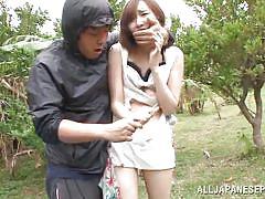 Weirdo exploits a cute asian girl