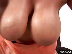 Chubby redhead kamila takes big dong