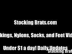 stockings, mistress, amateur, pantyhose, pov, femdom, tights, foot fetish