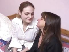 Mature mom fucks hooker from the street lesbian xxx action