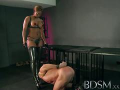 Femdom session with mistress webb