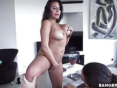 Big ass milf takes all my cock