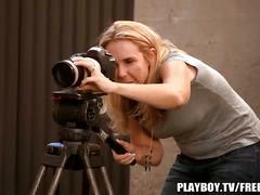 Playboy behind the scenes