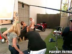 Playboy behind the scenes