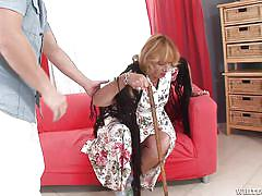 Slutty granny got hooked @ i wanna cum inside your grandma #07