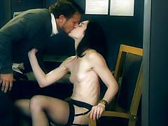 rimjob, stockings, blowjob, pussy licking, office sex, fuck from behind, brunette babe, digital playground, rikki six, mr. pete, stoya, bill bailey, karlo karrera, ash hollywood, kayden kross